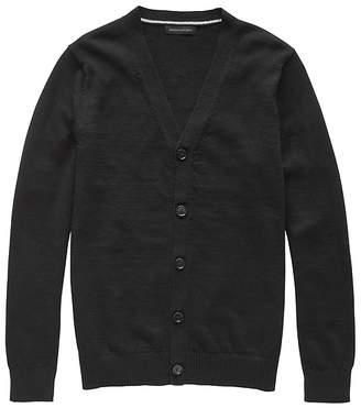 Banana Republic JAPAN EXCLUSIVE Performance Linen Cardigan Sweater