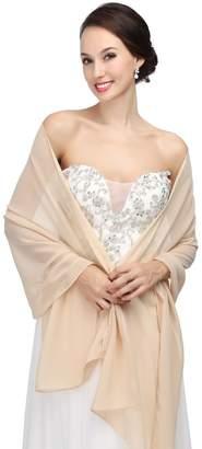 HotDresses Hot Dresses Chiffon Bridal Evening Scarves Wraps Shawls for Bridesmaid Prom Wedding