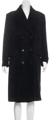 Max Mara Long Double-Breasted Coat
