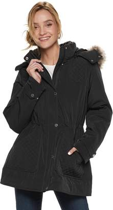 Gallery Women's Hooded Anorak Jacket