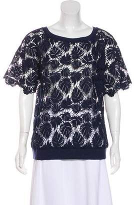 Lilly Pulitzer Lace Short Sleeve Top