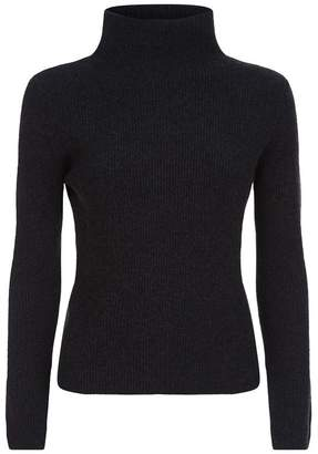 Lorena Antoniazzi Lurex Roll Neck Cashmere Sweater