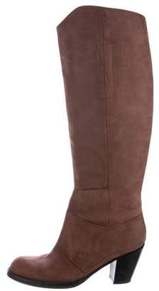 Acne Studios Suede Knee-High Boots