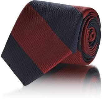 Fairfax Men's Wide-Striped Silk Faille Necktie