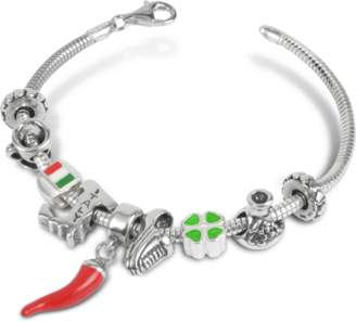Tedora Sterling Silver Italian Journey Bracelet