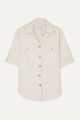 Anna Quan ANNA QUAN - Dolly Brushed Cotton Shirt - Ecru