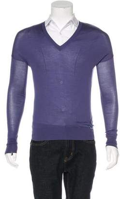 Louis Vuitton Embellished Silk Sweater