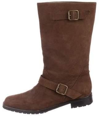 Manolo Blahnik Moto Ankle Boots