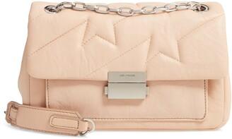 Zadig & Voltaire Ziggy Quilted Leather Shoulder Bag