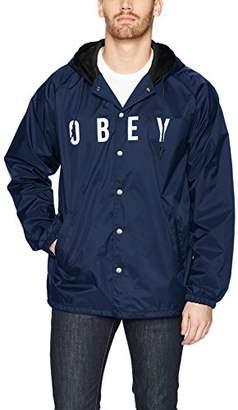 Obey Men's Anyway Coaches Jacket