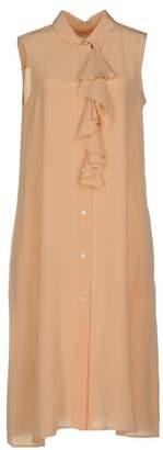 Gold Case Knee-length dress
