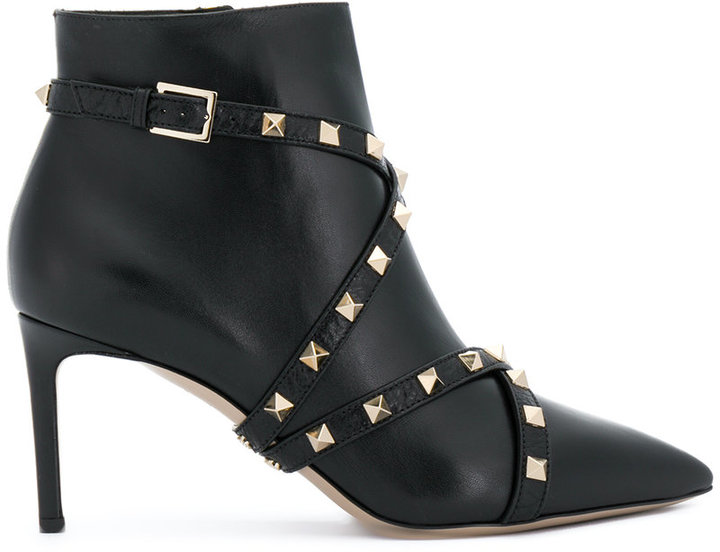 Valentino Garavani Studwrap ankle boots