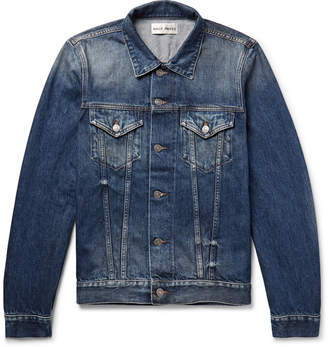 Privee SALLE Zach Selvedge Denim Jacket