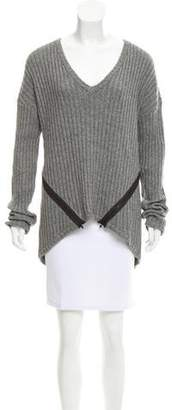 Kimberly Ovitz Long Sleeve V-Neck Sweater
