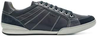 Geox contrast stitch sneakers