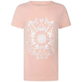 GUESS GuessGirls Pink Butterfly Top