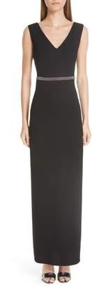 Fabiana Filippi Beaded Maxi Dress