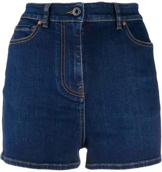 Valentino high waisted denim shorts