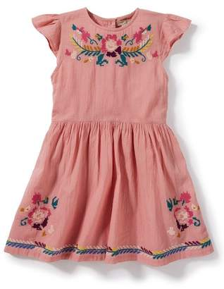 Peek Delilah Embroidered Dress (Toddler Girls, Little Girls & Big Girls)