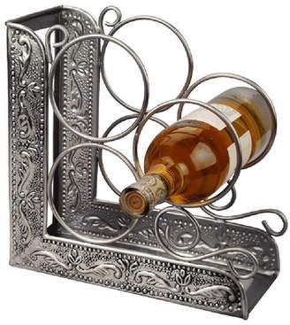 Old Dutch Victoria Embossed 3 Bottle Tabletop Wine Bottle Rack