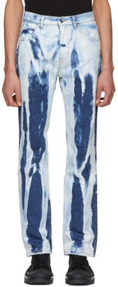 Helmut Lang Indigo Shayne Oliver Bleacher 97 Jeans