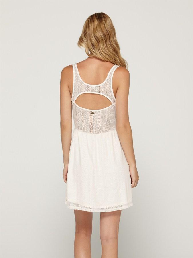 Roxy Take Me Away Lace Dress