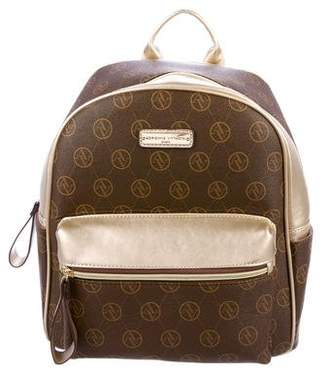 Adrienne Vittadini Signature Canvas Backpack