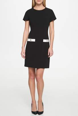 Tommy Hilfiger Short Sleeve Crew Neck Dress