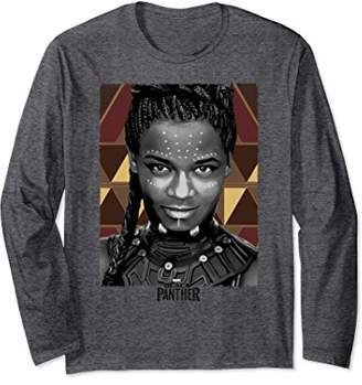 Marvel Panther Avengers Shuri Portrait Long Sleeve Tee