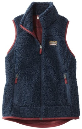 L.L. Bean L.L.Bean Mountain Pile Fleece Vest, Misses