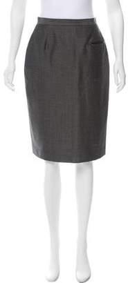 Burberry Straight Knee-Length Skirt
