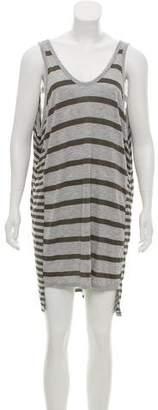 Alexander Wang Sleeveless Striped Dress