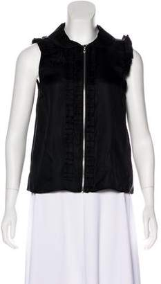 Marc by Marc Jacobs Silk Ruffled Blouse