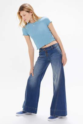 BDG Tamara Baggy Low-Rise Wide Leg Jean Dark Wash