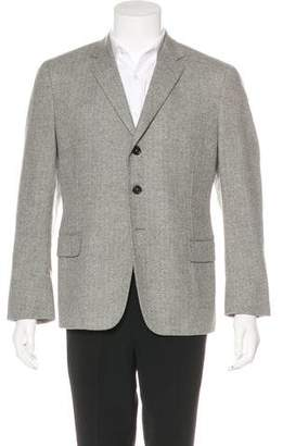 Saint Laurent Wool Notched Blazer