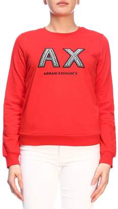 Armani Collezioni (アルマーニ コレッツォーニ) - Armani Collezioni Armani Exchange Sweater Sweater Women Armani Exchange