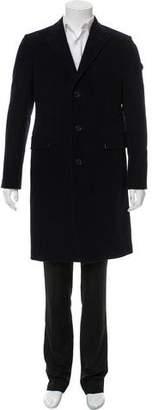 Calvin Klein Velvet Overcoat