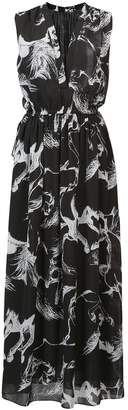 ADAM by Adam Lippes floral flared dress