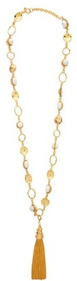 Sylvia Toledano - Faux Pearl Embellished Necklace - Womens - Pearl