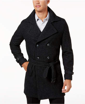 INC International Concepts I.N.C. Men's Double-Breasted Trench Coat, Created for Macy's