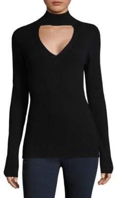 Paige Jeanie Choker Sweater