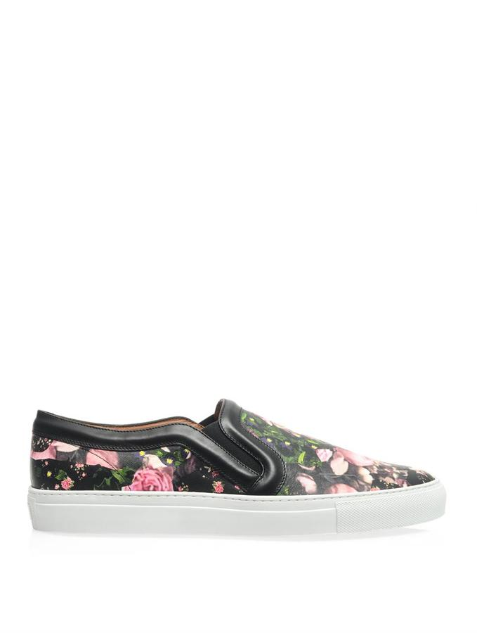 Givenchy Floral camo-print slip-on trainers