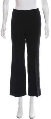 Protagonist Virgin Wool Pintuck Mid-Rise Pants w/ Tags Black Virgin Wool Pintuck Mid-Rise Pants w/ Tags
