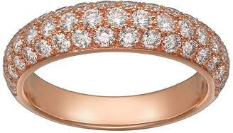 Cartier Pink Gold and Diamond Étincelle de Ring