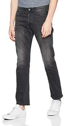 Replay Men's Waitom Straight Jeans, (Grey Denim 7), W34/L30 (Size: 34)