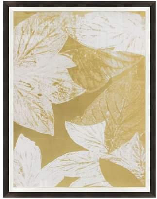 Pottery Barn Leaf Collage Framed Print
