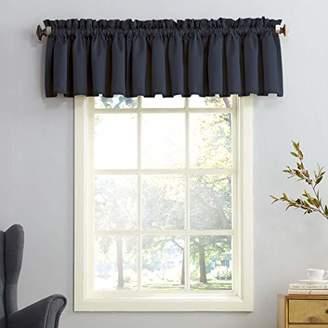 Sun Zero Barrow Energy Efficient Rod Pocket Curtain Valance