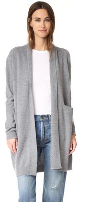 Vince Cashmere Sweater Coat $495 thestylecure.com