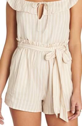 Billabong Fake Out Paperbag Waist Shorts