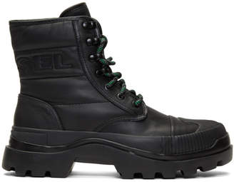 Diesel Black D-Vaiont DBB II Boots